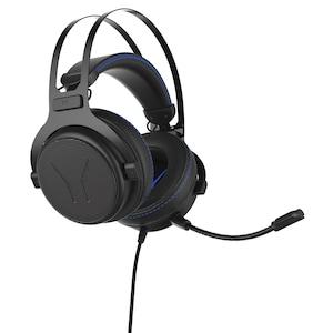 ERAZER® X83017 7.1 Surround Gaming Headset mit High-Performance-USB-Adapter, Noise-Reduction, kompatibel mit Playstation 4, Xbox One, PC, Mac
