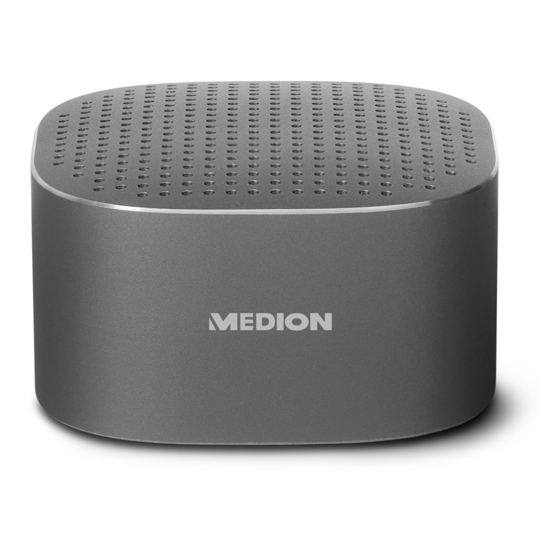 MEDION® Aluminium Bluetooth Lautsprecher MEDION® MD 43250 - mit Bluetooth 3.0 und Freisprechfunktion
