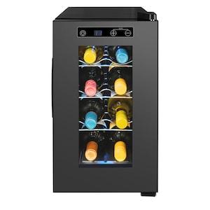 MEDION® Weintemperierschrank MD 37430, regulierbare Temperatur zwischen 7°C-18°C, Nutzinhalt 21L (ca. 8 Flaschen)