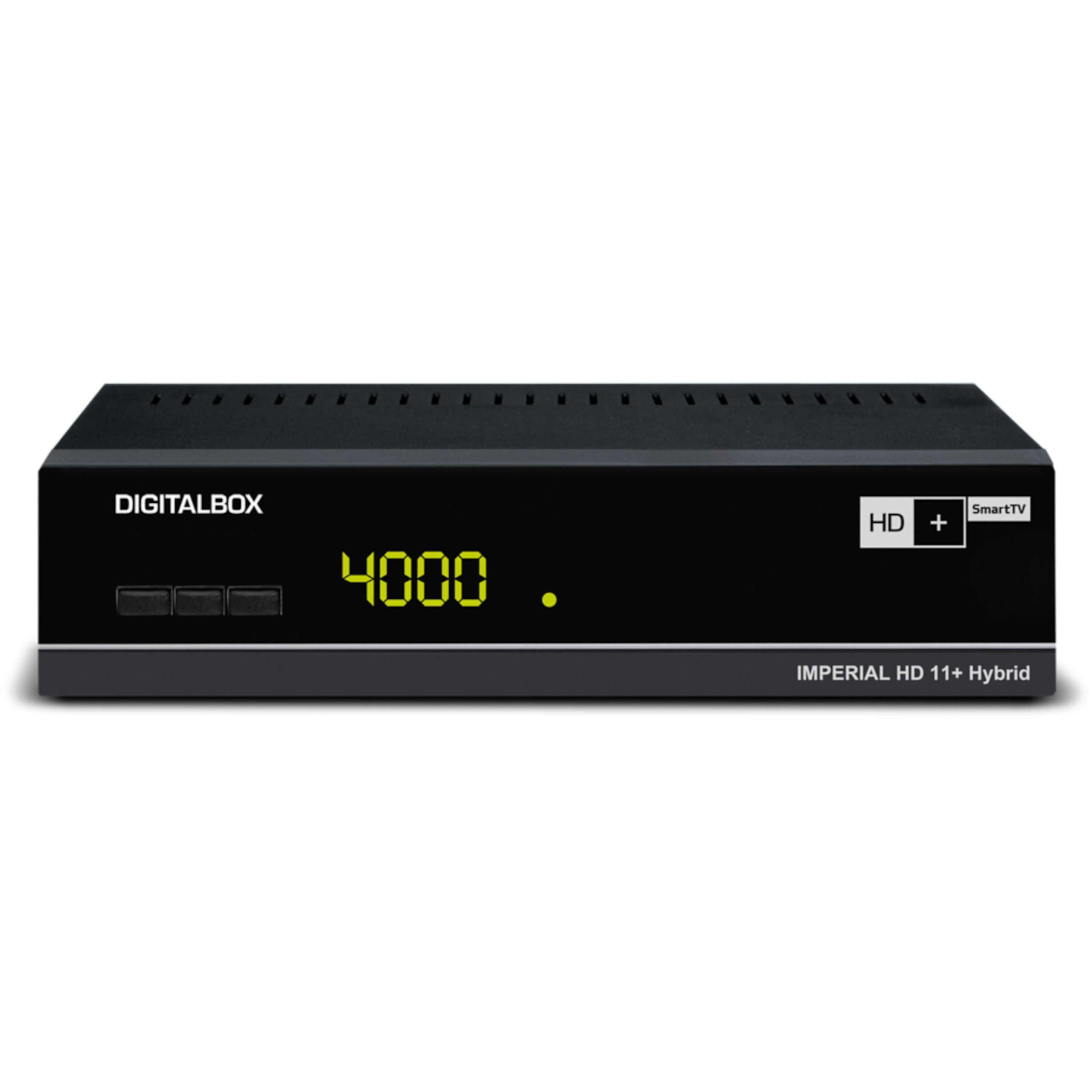 TELESTAR IMPERIAL HD 11+ Hybrid, Digitaler Satelliten-Receiver, HDTV, USB 2.0, PVR ready, Wlan, LAN, inkl. HD+ Karte für 6 Monate