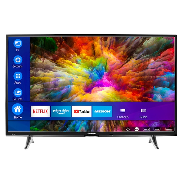 Medion Life X14000 Smart Tv 1016cm 40 Ultra Hd Hdr Pvr