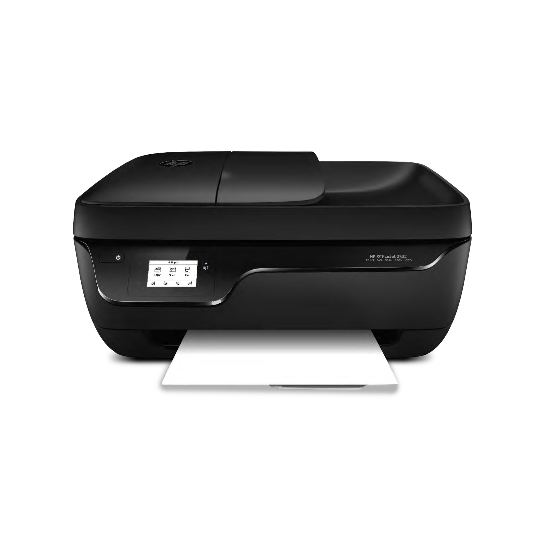 HP Deskjet 3832 All-in-One Drucker - Drucken, Kopieren und Scannen mit einem Gerät, WLAN 802.11n, USB 2.0, Wireless Direkt Technologie