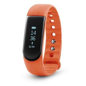 MEDION® LIFE® S2000 Fitnessarmband mit OLED Display, Herzfrequenzmesser, flexibles Armband, wassergeschützt nach IP67, Schrittzähler, Schlafüberwachung
