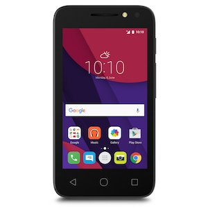 ALCATEL Pixi 4 4034D Smartphone, 10,16 cm (4'') Display, Android™ 6.0, 4 GB Speicher, Quad-Core-Prozessor (B-Ware)