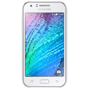 "SAMSUNG Galaxy J1 Smartphone, 10,92 cm (4,3"") Display, Android™ 4.4, 4 GB Speicher, 512 MB RAM, Dual-Core-Prozessor"