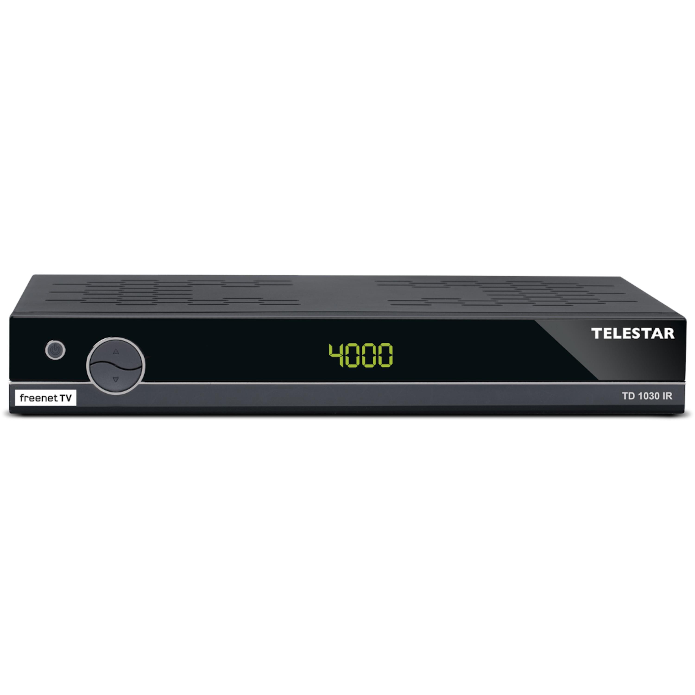 TELESTAR TD 1030 IR Receiver, DVB-T2, IRDETO-Entschlüsselung, HDMI, Scart, USB-Mediaplayer