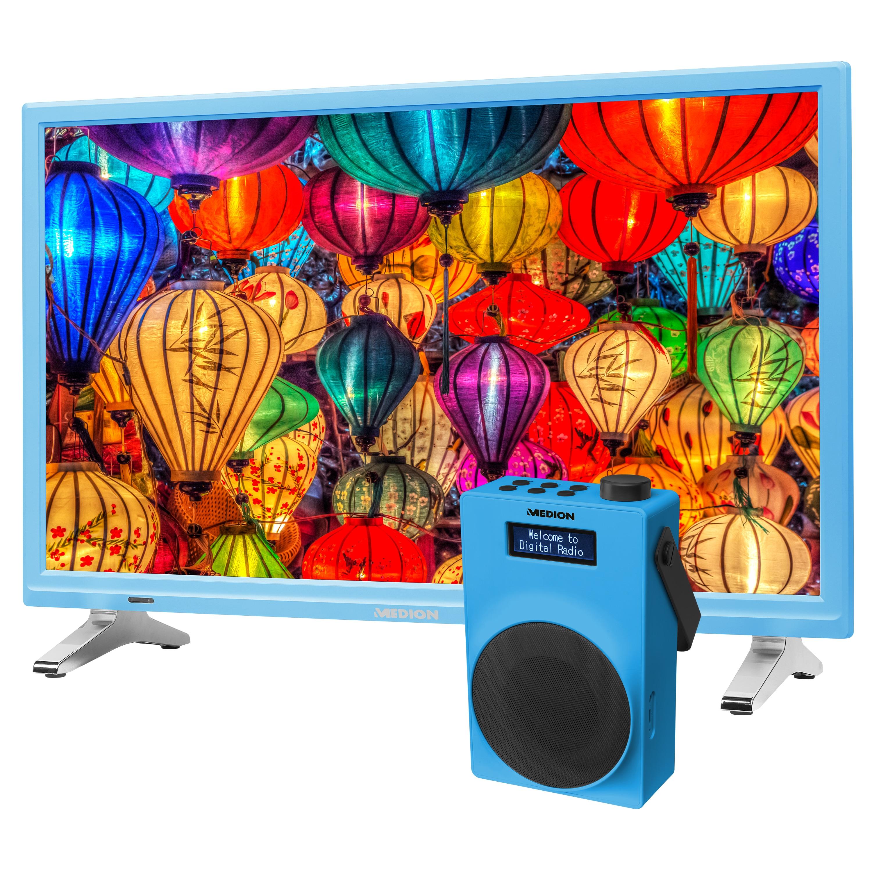 MEDION® LIFE® P13500 TV, 54,6 cm (21,5) LED-Backlight, HD Triple Tuner, CI+ inkl. DAB+ Radio E66880