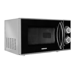 MEDION® Mikrowelle MD 15644, 700 Watt Leistung, 17 L Kapazität, 6 Leistungsstufen, Auftaufunktion