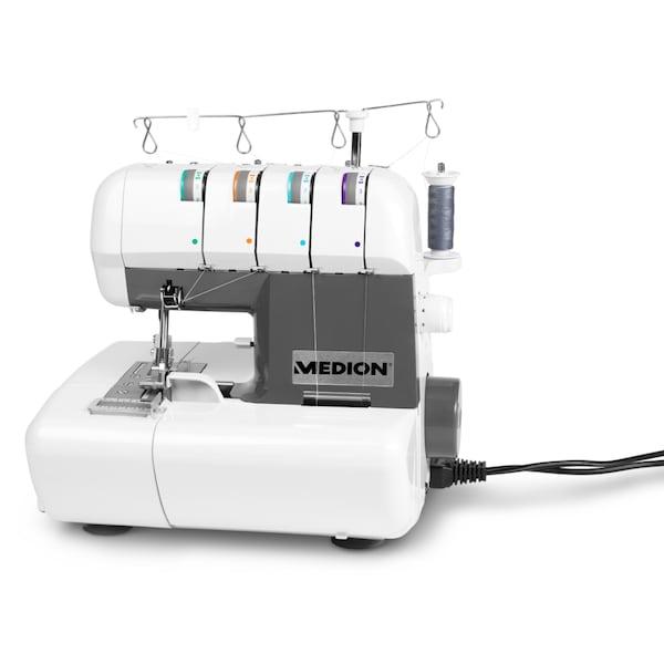 Medion overlock n hmaschine md 16600 mit n hlicht 90w leistung einstellbarer fadenspannung - Tablet wandhalterung selber bauen ...