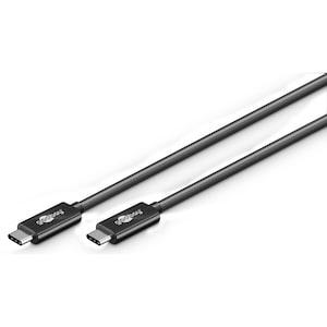 WENTRONIC USB 3.1 Generation 2 Kabel 1 m, SuperSpeed+ Datenübertragung, 20-mal schneller als USB 2.0