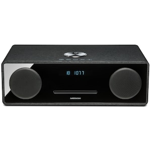 MEDION® LIFE® X64777 All-in-One Audio System, Bluetooth® 3.0, USB & AUX, CD-Player, PLL-UKW Radio, LC-Display, 2 x 25 W RMS