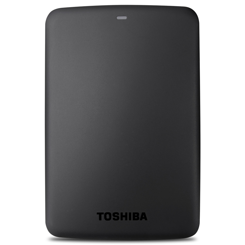 TOSHIBA Canvio 2 TB Externe 2,5 Festplatte, USB 3.0, Datenschutz durch Stoßsensor