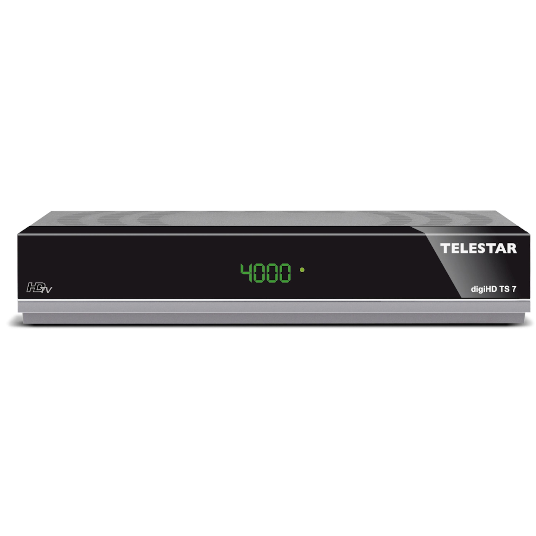 TELESTAR digiHD TS 7 HDTV-Satelliten Receiver (HDMI, Scart,USB, PVR ready,Audio optisch, LAN)
