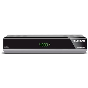 TELESTAR digiHD TS 7 HDTV-Satelliten Receiver (HDMI, Scart,USB, PVR ready,Audio optisch, LAN)