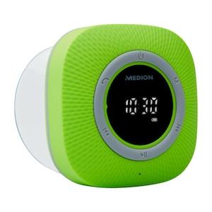 MEDION® LIFE® P66096 Duschradio, LED-Display, UKW-Radio, IPX6 Schutz, Bluetooth® 5.0, 30 W Ausgangsleistung