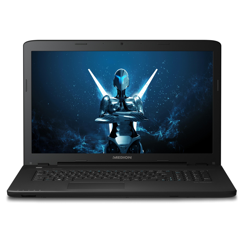 MEDION® ERAZER® P7643, Intel® Core™ i5-6200U, Windows10Home, GTX 950M, 43,9 cm (17,3'') FHD Display, 128 GB SSD, 1 TB HDD, 8 GB RAM, Gaming Notebook (B-Ware)