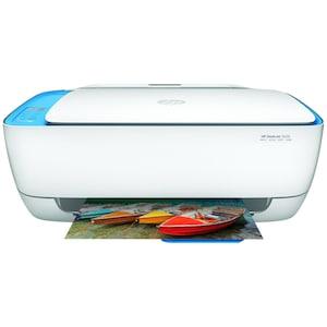 HP Deskjet 3638 All-in-One Drucker - Drucken, Kopieren und Scannen mit einem Gerät, WLAN 802.11n, USB 2.0, Wireless Direkt Technologie