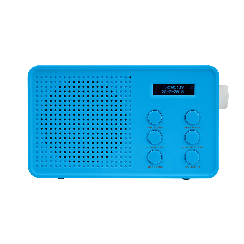 MEDION® LIFE® E66420 DAB+/UKW Radio, LCD Display, Freisprechfunktion, kabellose Musikübertragung, 4 Weckprogramme