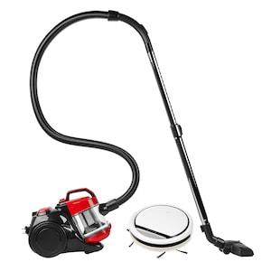 MEDION® Reinigungsbundle mit dem Bestseller - Saugroboter MD 18500 & Zyklon-Staubsauger MD 18004