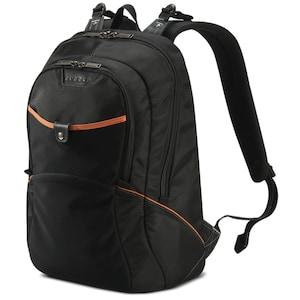EVERKI Glide Laptop Rucksack für Geräte bis 17,3-Zoll, ergonomische Schultergurte, kontrastreiche Innenauskleidung, ultraweiche Lendenpolsterung