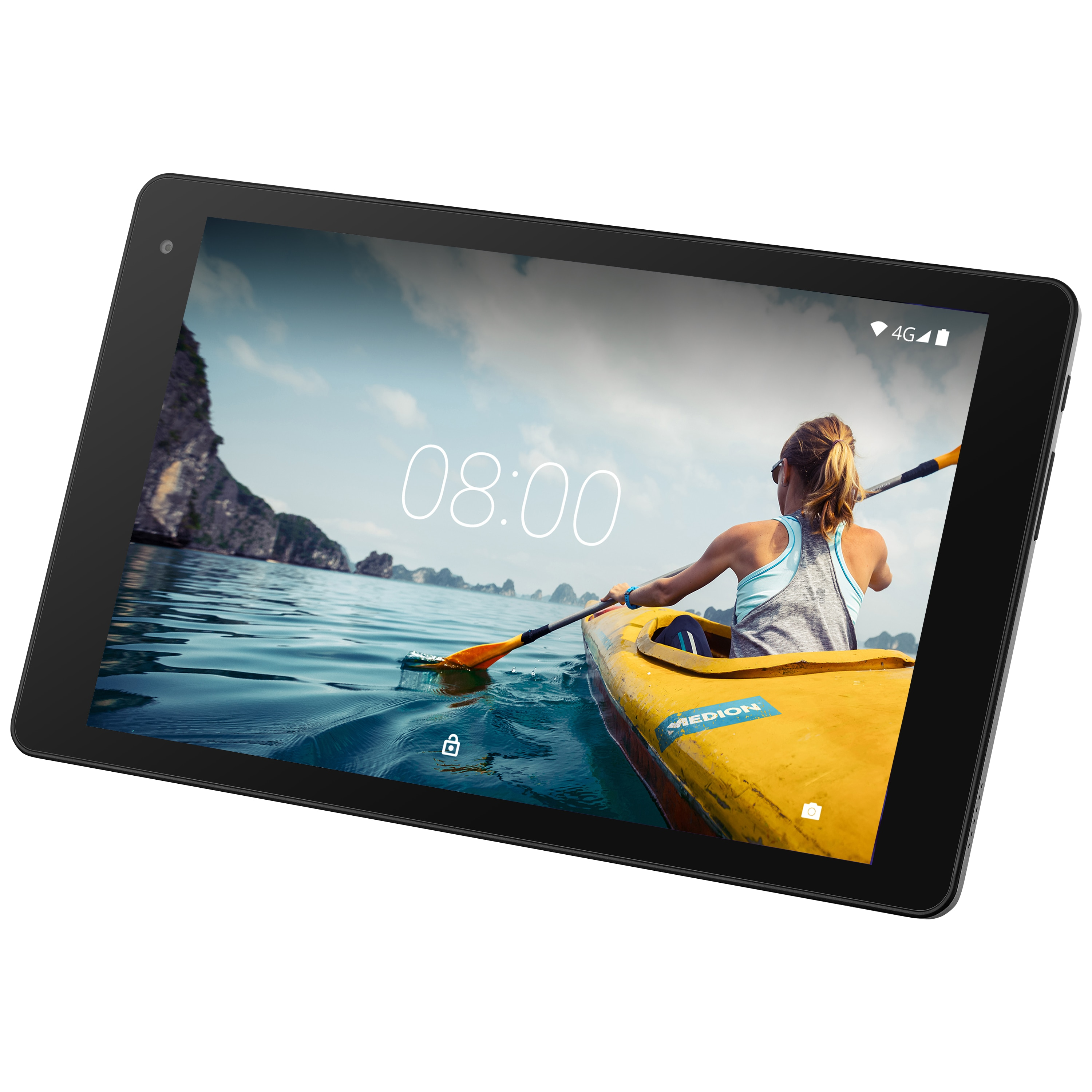 """MEDION® LIFETAB® X10607 Tablet, 25,7 cm (10,1"""") FHD Display mit Corning® Gorilla® Glass, Android™ 7.1, 64 GB Speicher, Octa Core Prozessor, LTE, Quick Charge"""