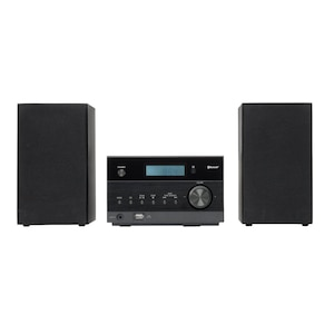MEDION® LIFE® P64122 Micro-Audio-System mit kabelloser Musikübertragung, 30 Senderspeicher, 2 x 50 Watt max. Musikausgangsleistung