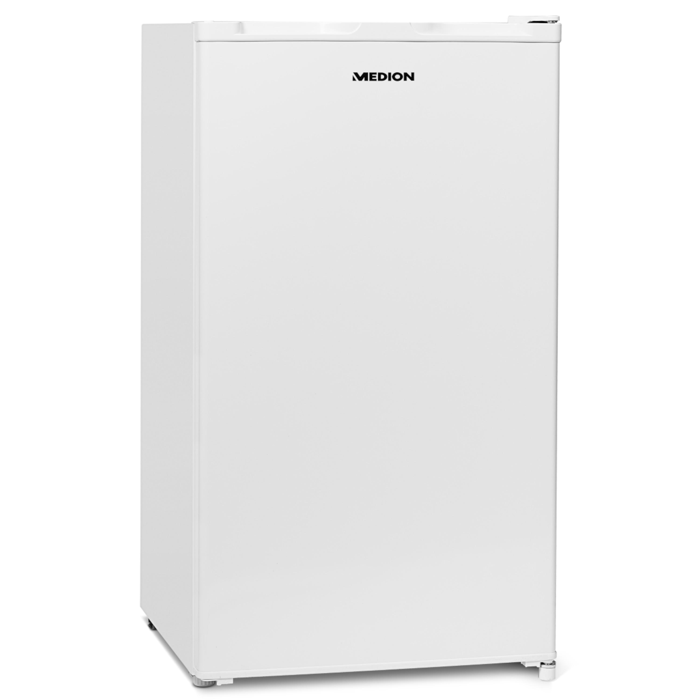MEDION® Kühlschrank MD 37242 mit Eiswürfelfach, Energieverbrauch 110 kWh/Jahr, 93 L Nutzinhalt, Geräuschpegel 41 dB, Türanschlag wechselbar