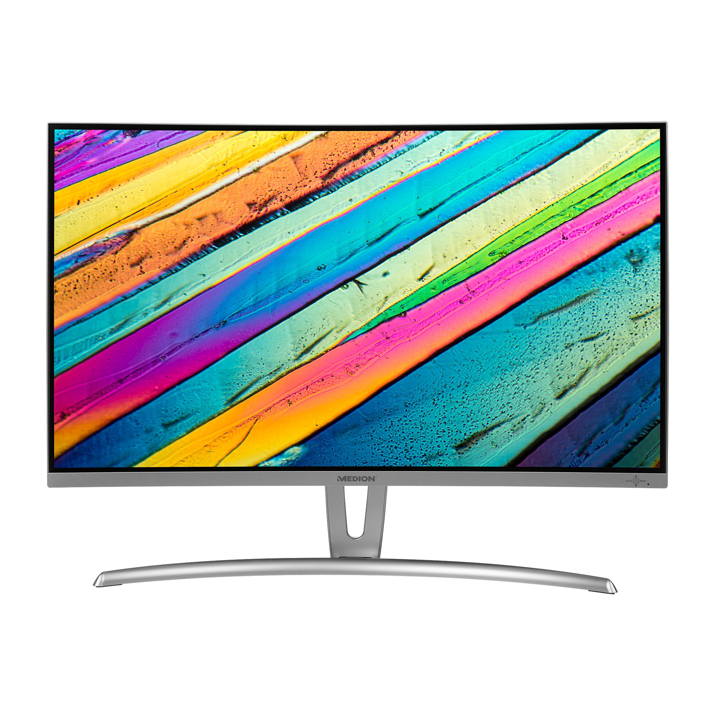 MEDION® AKOYA® P57851 Curved Monitor, 68,6 cm (27) LED-Backlight, Full HD Display, integrierte Lautsprecher, HDMI, DVI-D