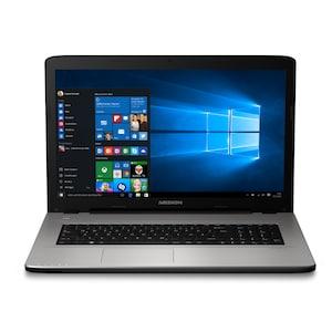 MEDION® AKOYA® E7419, Intel® Celeron™ 3855U, Windows 10 Home, 43,9 cm (17,3) HD Display, 500 GB HDD, 4 GB RAM, Notebook