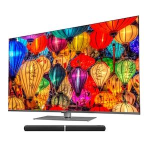 MEDION® LIFE® S16599 Smart-TV, 163,9 cm (65'') Ultra HD Display, WCG, HDR, Dolby Vision, PVR ready, Netflix, Bluetooth®, DTS HD, HD Triple Tuner, CI+, inkl. Soundbar E64058