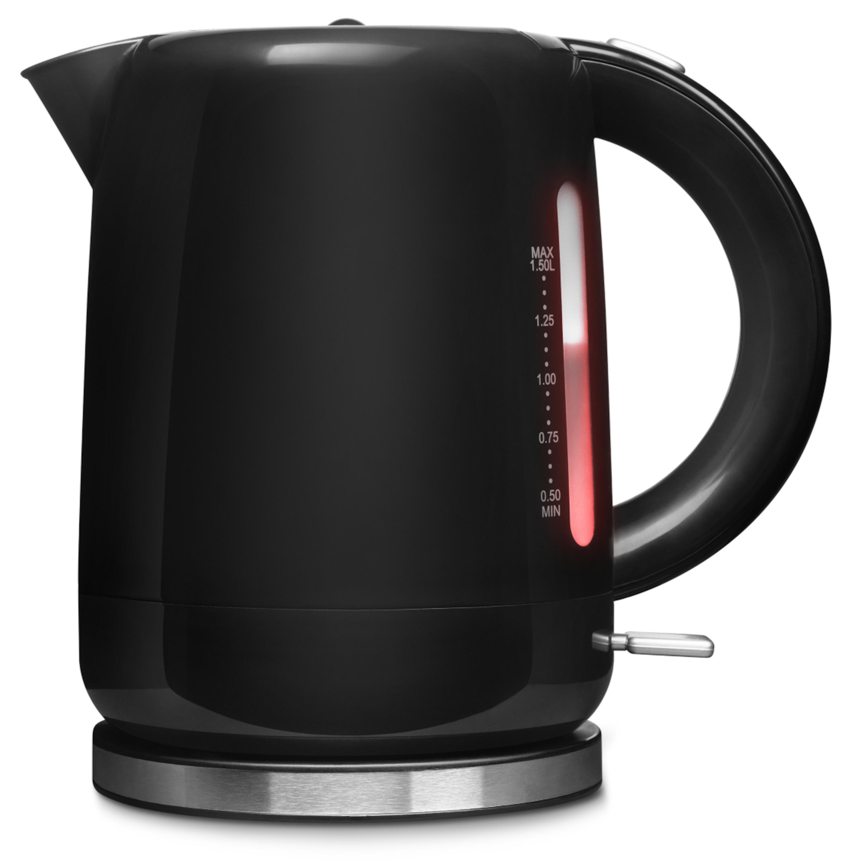 MEDION® Wasserkocher MD 18090, 2200 Watt Leistung, 1,5 Liter Fassungsvermögen, zahlreiche Sicherheitsfunktionen