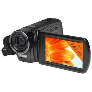 "MEDION® LIFE® X47030 Digitaler Full HD Camcorder, 7,62 cm (3"") Display, 5.0 Megapixel CMOS Sensor, 10-fach digitaler Zoom, 5-fach optischer Zoom"