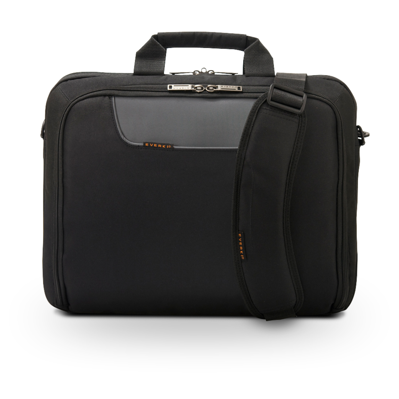 EVERKI Advance Laptoptasche für Geräte bis 17,3, Schulterpolster, Trolleylasche, Selbstheilende Reißverschlüsse