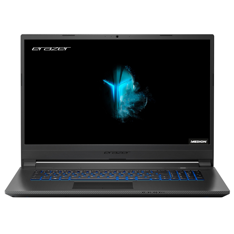 ERAZER® P17815, Intel® Core™ i7-9750H, Windows10Home, 43,9 (17,3) FHD Display, GTX 1660 Ti, 512 GB SSD, 1 TB HDD, 32 GB RAM, Core Gaming Notebook
