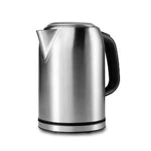 MEDION® Edelstahl Wasserkocher MD 16231, 2200 Watt, Trockengehschutz, herausnehmbarer Kalkfilter
