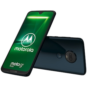 MOTOROLA moto g7 plus Smartphone, 15,84 cm (6,24) Full-HD+ Display, Android™ 9.0, 64 GB Speicher, Octa-Core-Prozessor, Dual-SIM, LTE