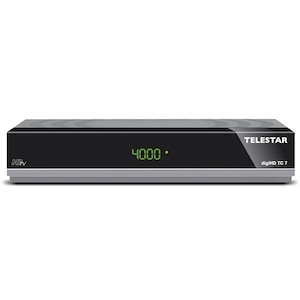 TELESTAR digiHD TC 7, Kabel-Receiver, DVB-C HD, HDMI, USB, PVR, Scart, Ehernet, Display