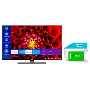 MEDION® LIFE® S14310 108 cm (43'') Ultra HD Smart-TV + DVB-T 2 HD Modul (1 Monat freenet TV gratis) - ARTIKELSET