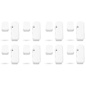 MEDION® Smart Home Sparpaket - 8 x Tür- und Fensterkontakt P85703, Erkennt geöffnete Türen, Fenster und Schränke, Löst Alarm aus, Steuerung per App