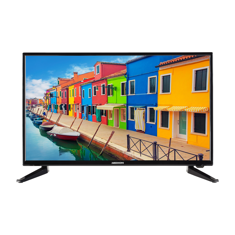 MEDION® LIFE® E12834 TV, 69,9 cm (27,5) HD Display, HD Triple Tuner, integrierter Mediaplayer, CI+