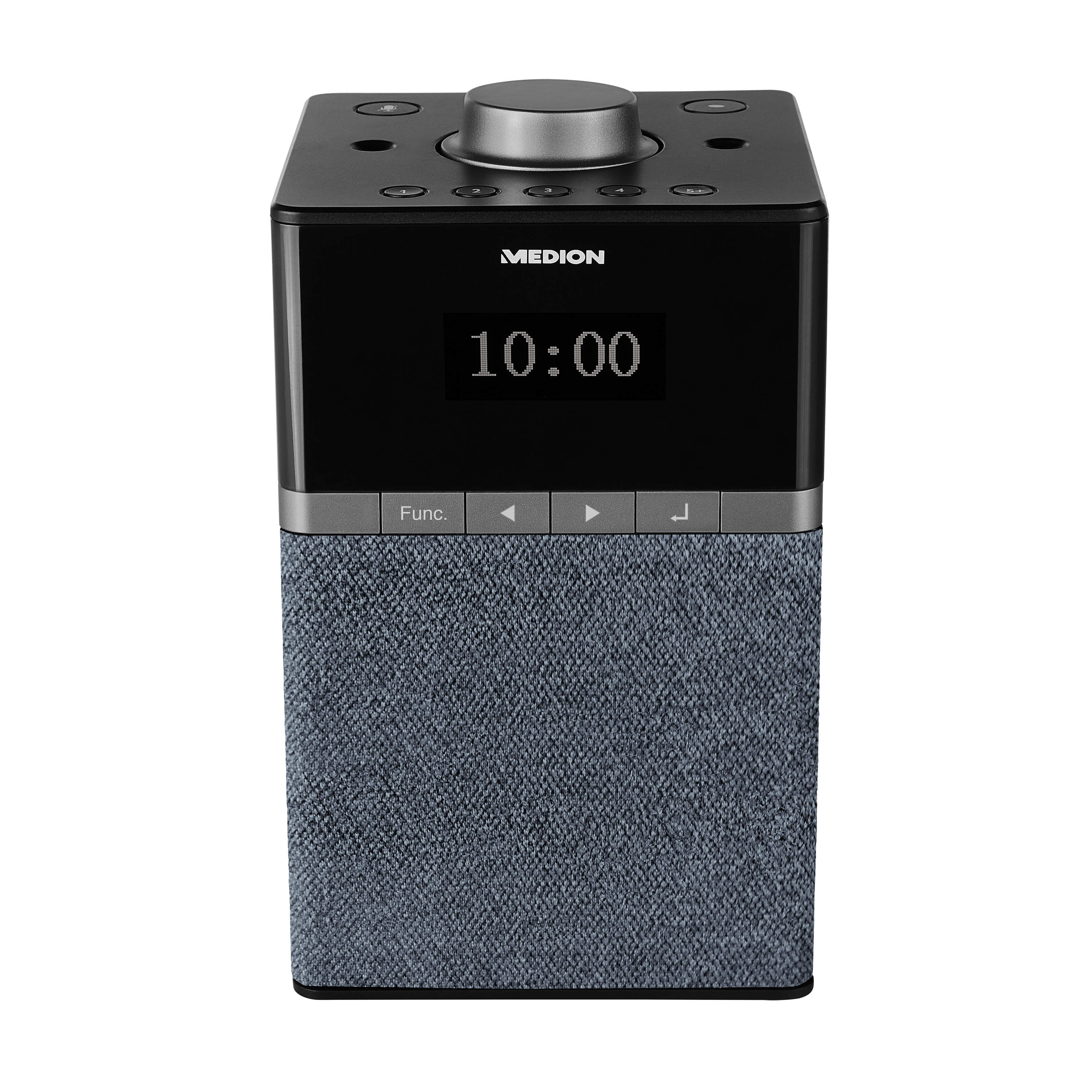 MEDION® LIFE® P66130 WLAN DAB+ Radio mit Amazon Alexa, 4 W RMS, Dot Matrix Display, DAB+, PLL UKW, DLNA, Spracherkennung, Multiroom, Musikstreaming