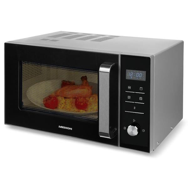 medion grill mikrowelle md 18042 kombination aus mikrowelle und grill 8 automatikprogramme. Black Bedroom Furniture Sets. Home Design Ideas