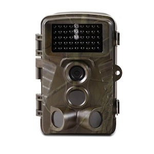 MEDION® Wildkamera S49014, getarntes Gehäuse, 5 Megapixel, Spritzwassergeschützt, Bewegungsmelder, 2,4 Farbdisplay (B-Ware)