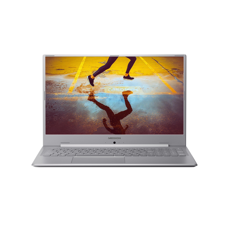 MEDION® AKOYA® S17402, Intel® Pentium™ Gold 5405U, Windows10Home, 43,9 cm (17,3) FHD Display, 512 GB SSD, 4 GB RAM, Schlankes Design, Schnellladefunktion, Notebook