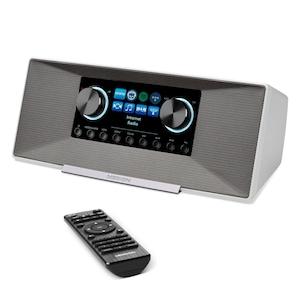 MEDION® DAB+ LIFE P85289 Internet Radio | WiFi | DLNA | LAN | Spotify-Connect | 2 x 6 W RMS | MP3 speler