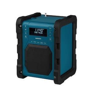 MEDION® LIFE® P66098 DAB+ Baustellenradio mit Bluetooth® Funktion, Dot-Matrix LC-Display, DAB+, PLL-UKW, RDS, kabellose Musikübertragung von Smartphone oder Tablet