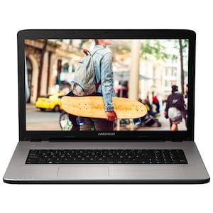 MEDION® AKOYA® E7419, Intel® Pentium® 4405U, ohne Betriebssystem, 43,9 cm (17,3) FHD Display, 1.5 TB HDD, 4 GB RAM, Notebook