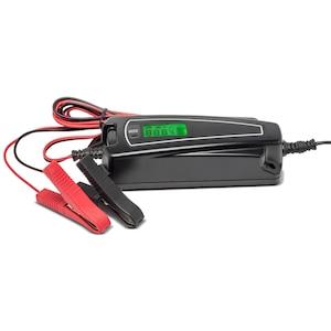 MEDION® KFZ-Batterieladegerät mit LC-Display MD 15526, Wiederbelebung von Autobatterien, automatische Anpassung