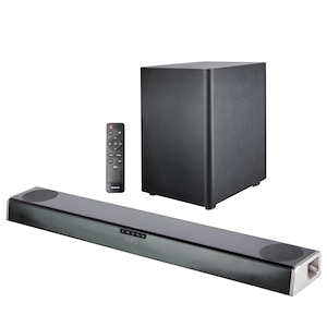 MEDION® LIFE® Dolby Atmos® Barre de son S61388 | Dolby Atmos® Son surround | Subwoofer sans fil | Bluetooth® 5.0