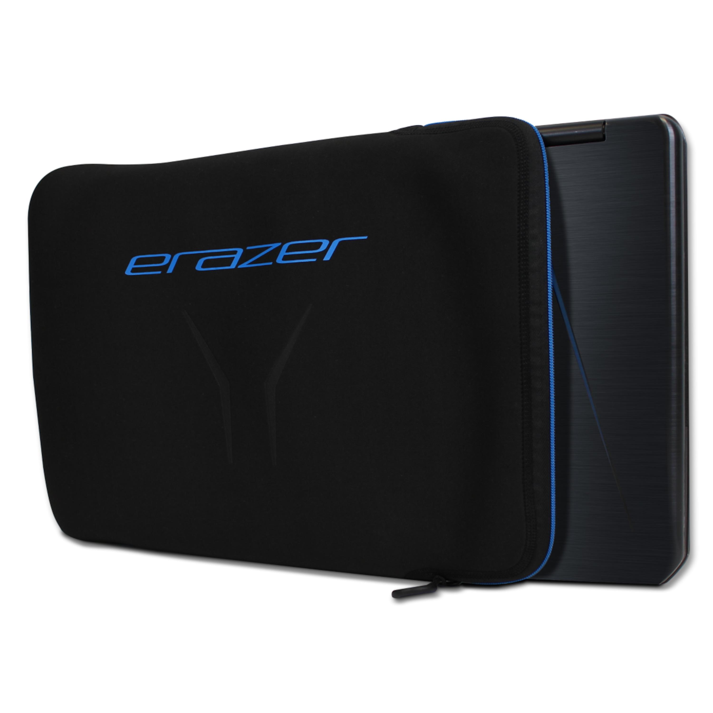 MEDION® ERAZER® X89715, Notebook Sleeve, für alle NBs bis 15,6, weiche Innenpolsterung, perfekter Schutz für unterwegs, schwarz